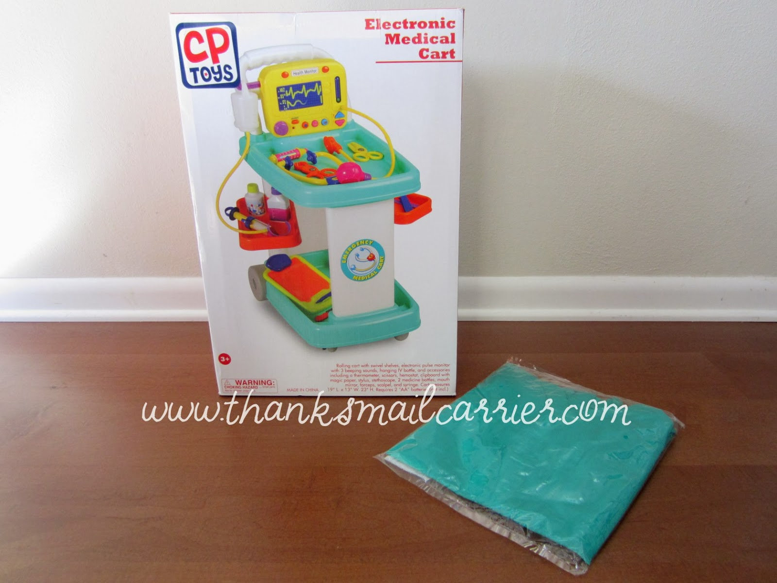 CP Toys Electronic Medical Cart