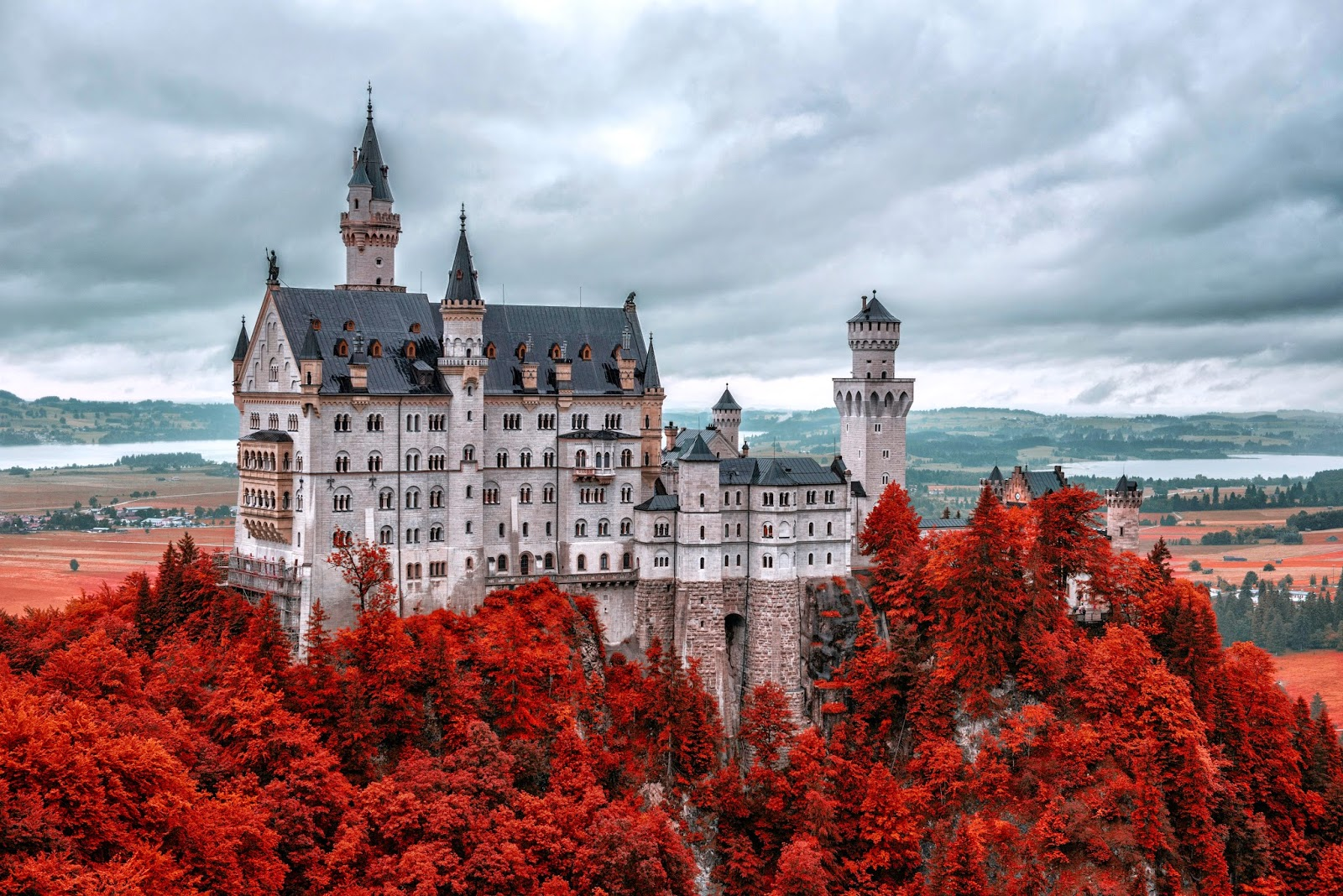 8 Neuschwanstein Castle Wallpaper HD