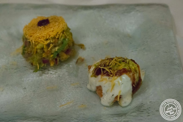 image of street food or chaat at Tulsi, Indian restaurant in Midtown East, NYC, New York