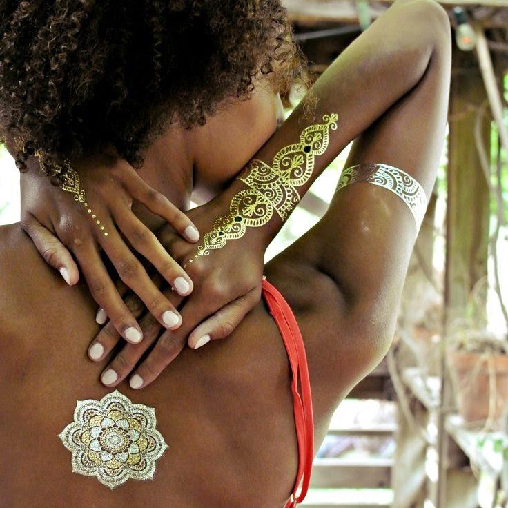 Flash Tatoos ou tatuagem temporária