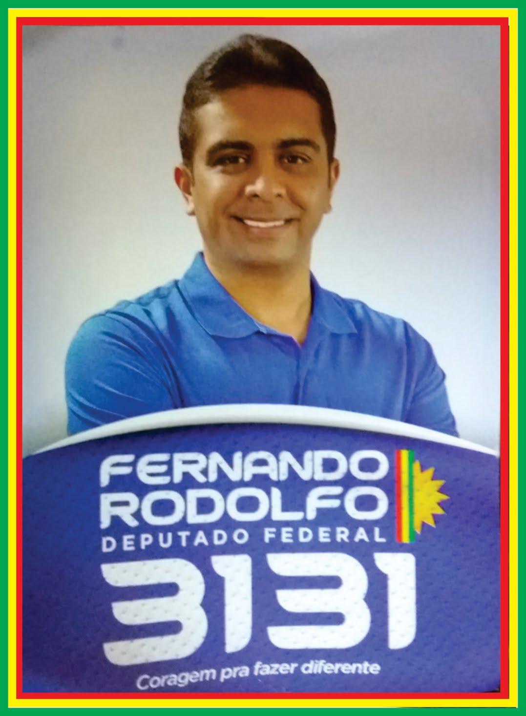 FERNANDO RODOLFO será o Deputado Federal  MAJORITÁRIO  em Garanhuns