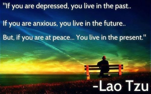 how to live when you are depressed