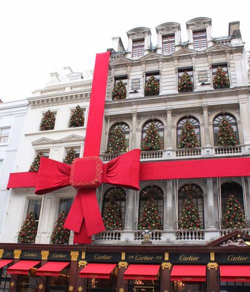 "Happy Christmas At "" Cartier"""