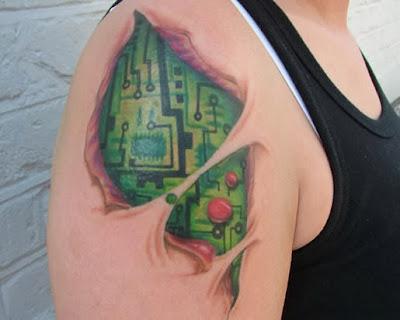 Imagens de Tatuagens Femininas em 3D