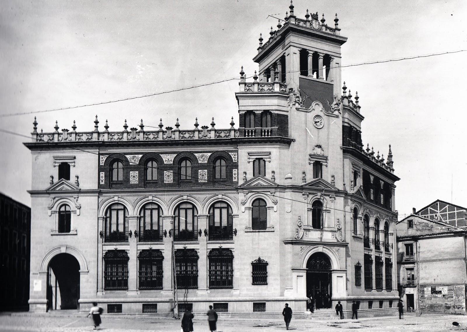 Arte en Valladolid: LA OBRA DEL ARQUITECTO MODERNISTA JERÓNIMO ...