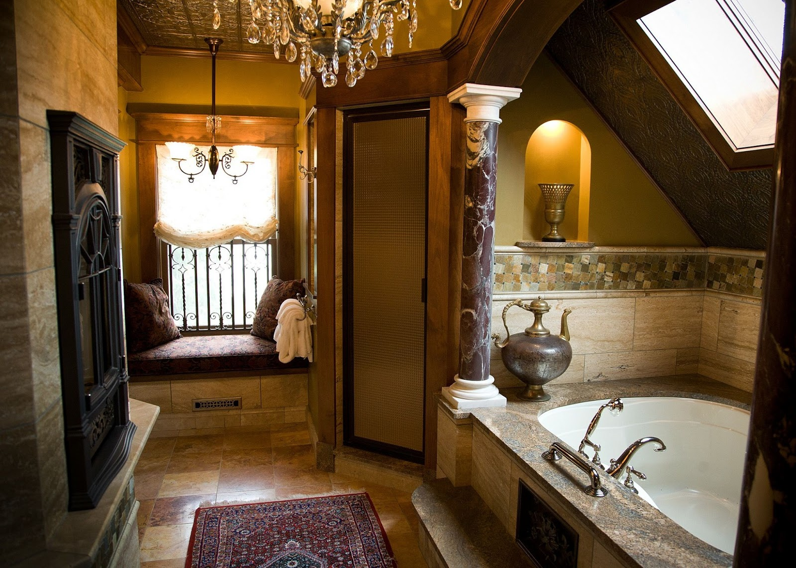 17 interesting bathroom designs architectures roman for Different bathrooms