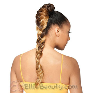 TopKnot | Hair Extension Options | http://hairdr13.blogspot.com
