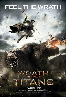 Wrath of Titans 2012 Movie Poster