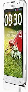 Gambar LG G Pro Lite putih (depan)