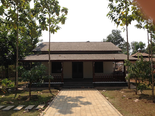 Betawi Traditional House in A Farmhouse Cottage Style Interior. \