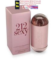 Perfume 212 sexy woman