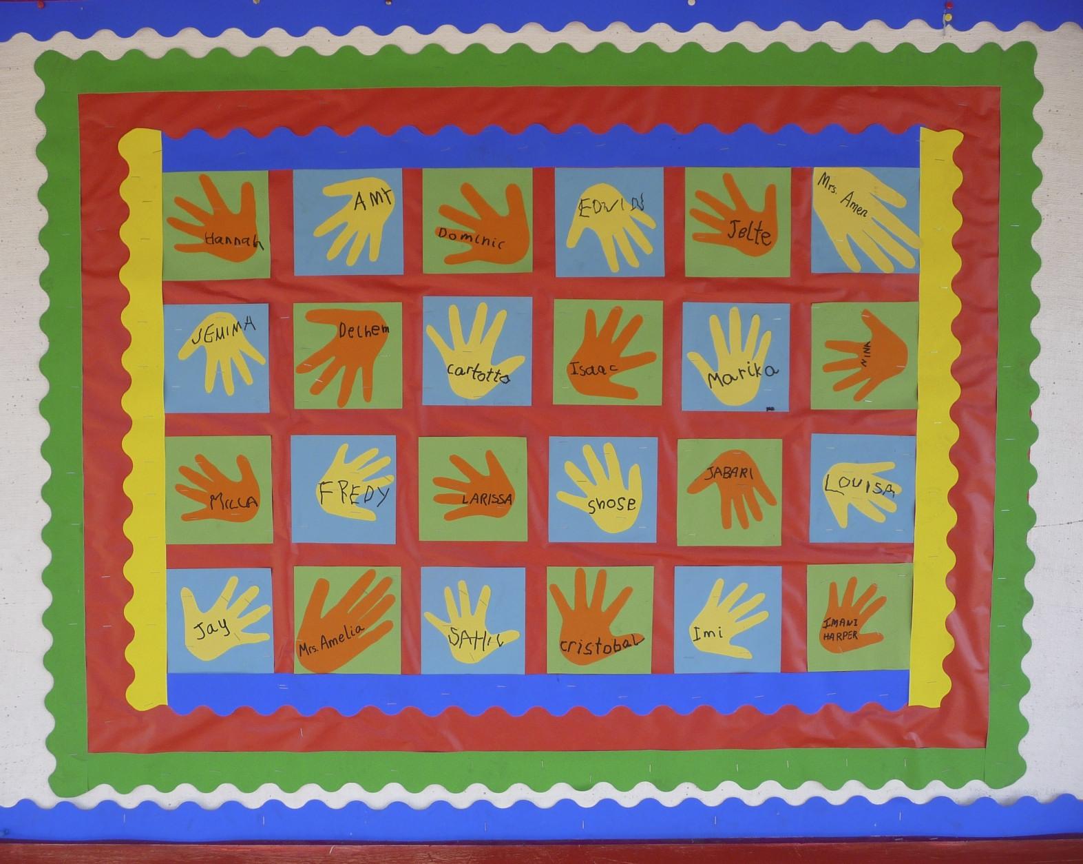 Quilt Patterns For Kindergarten : De Mello Teaching: Classroom Quilt