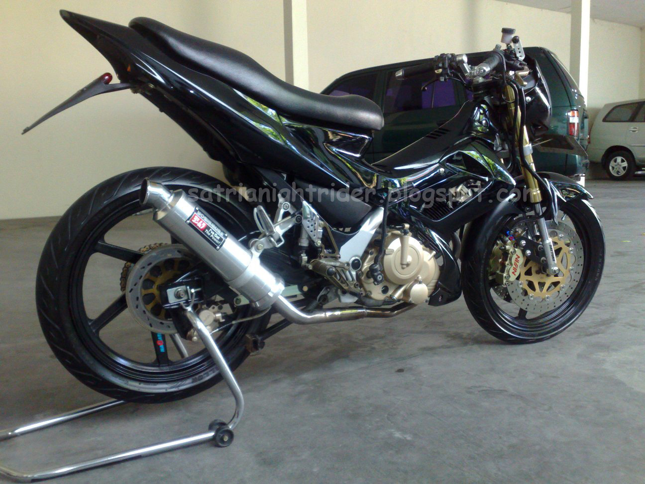 All About My Modifications Satria FU 150 2006