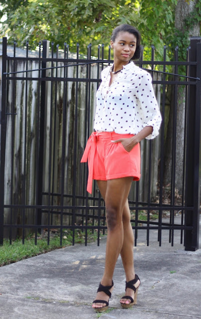 MM Couture Shorts Casual Look