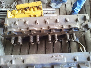 CAT 3408 marine engine cylinder head