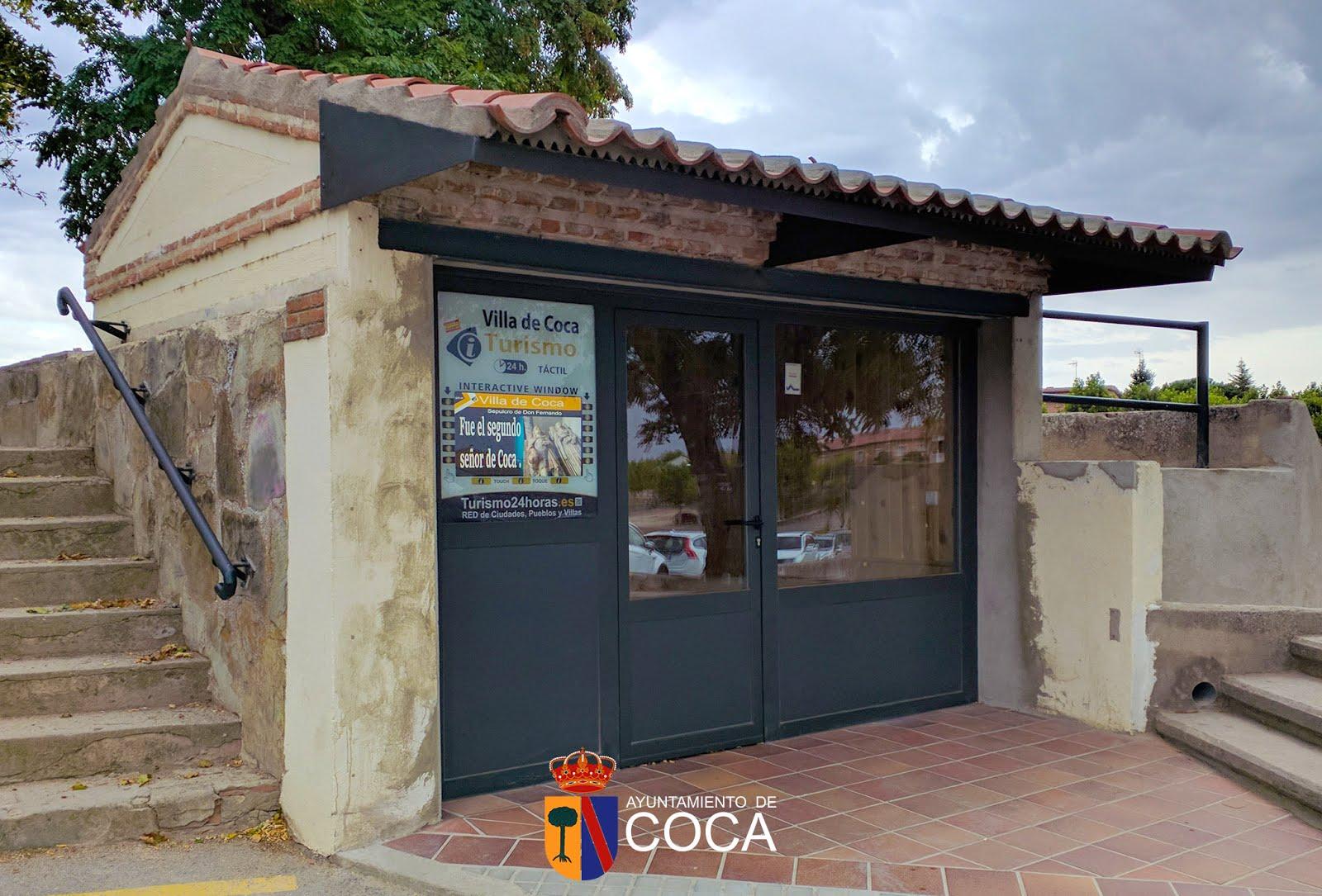 P gina web oficial del ayuntamiento de coca segovia for Segovia oficina de turismo