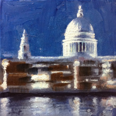 St.Paul's III by Liza Hirst