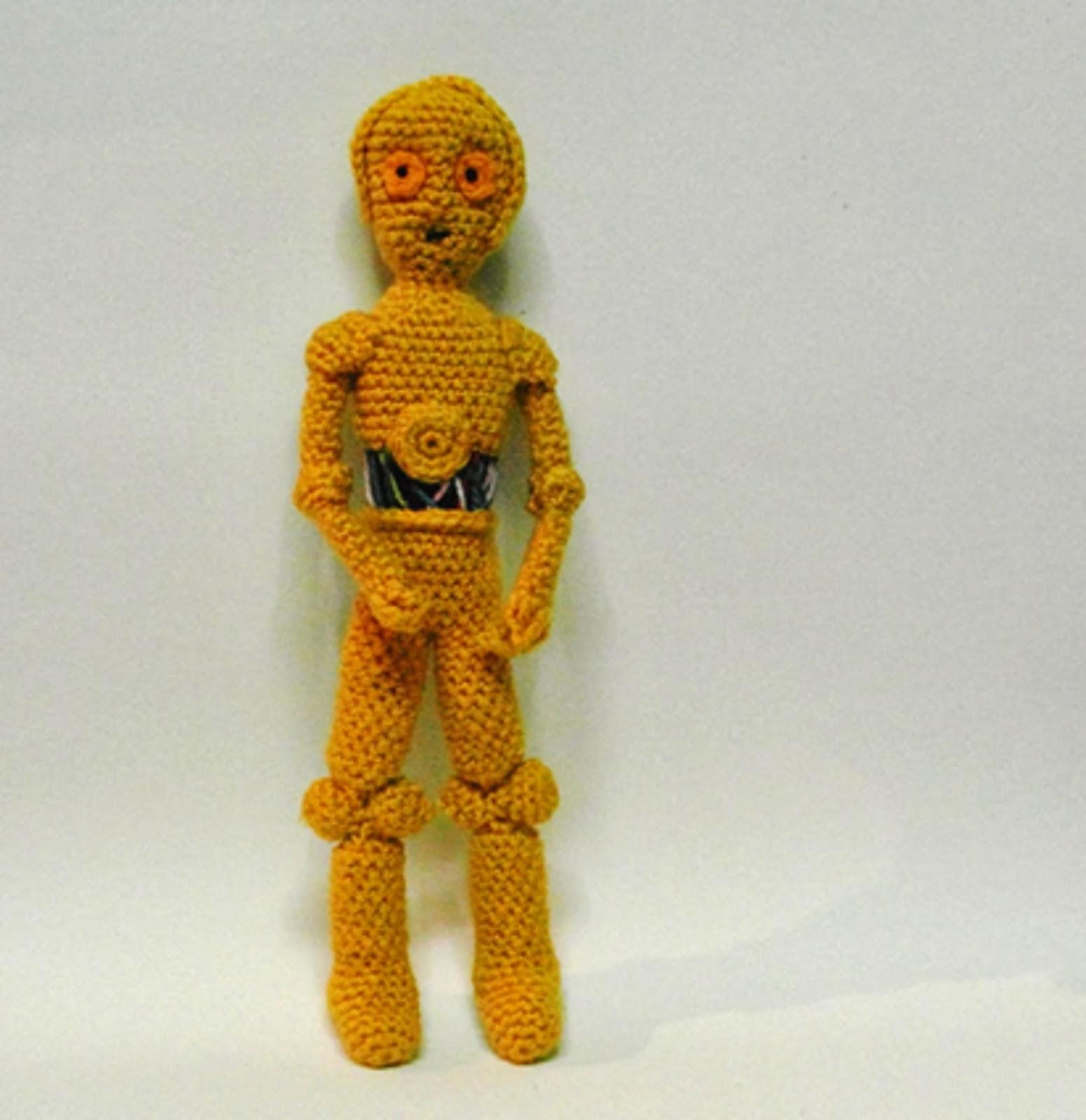 Patrones Amigurumi: C3PO