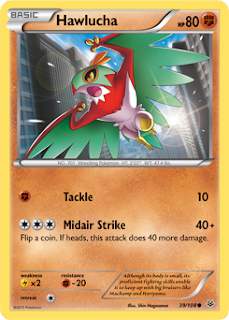 Hawlucha Roaring Skies Pokemon Card