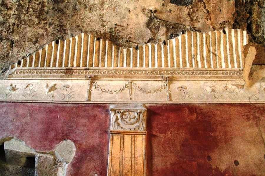 Pompei terme stabiane decorazione a stucco for Ricette romane antiche