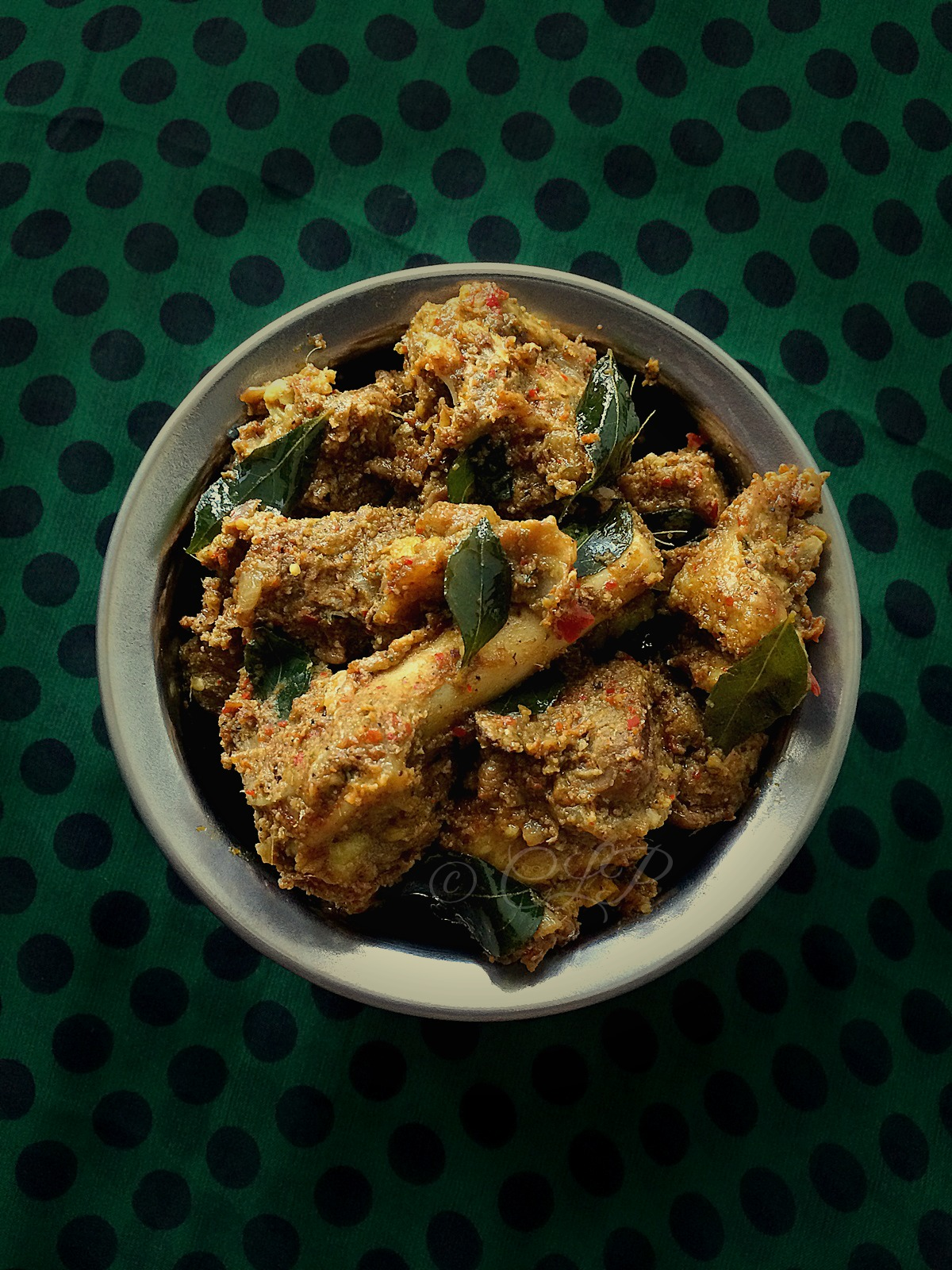 Spicy Lamb masala