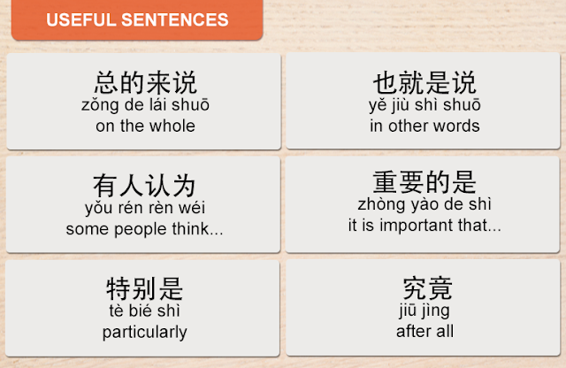 useful sentences for speeches and presentations