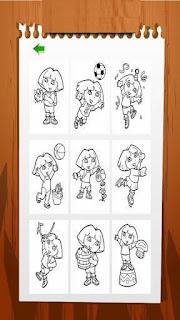Dora Coloring تلوين دورا