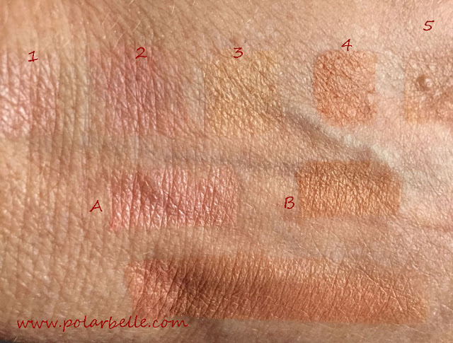 ShopAtHome, bronze, pink, glow, swatches, blonzer, blush, cruelty free