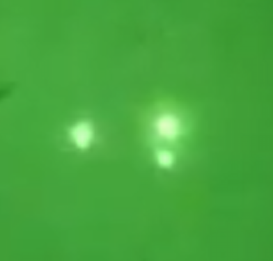 Triangle UFO Seen Over North Carolina With Night Vision, UFO Sightings