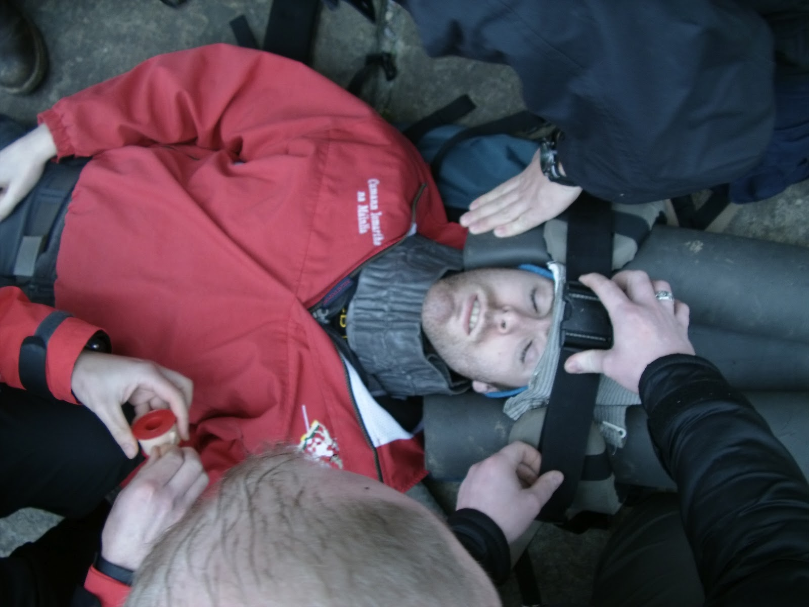 The students learned how to treat a femur fracture by using the -4.bp.blogspot.com