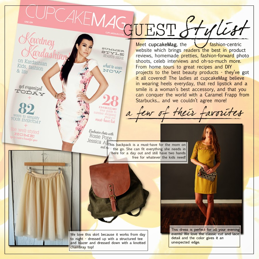 cupcakeMAG | August Guest Stylist for shopgracieb.com
