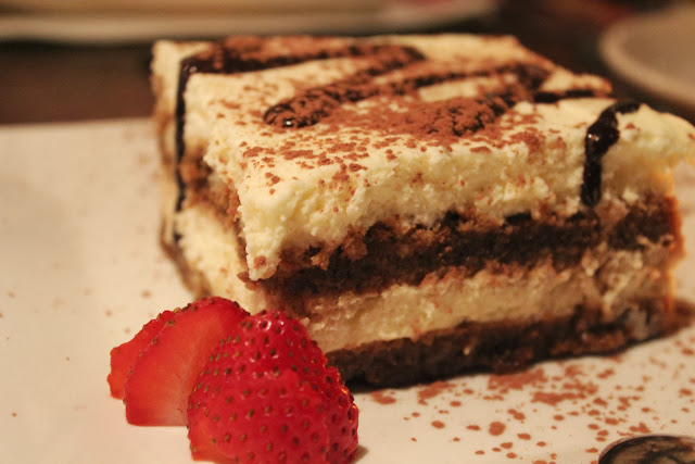 Tiramisu at Piattini Wine Cafe