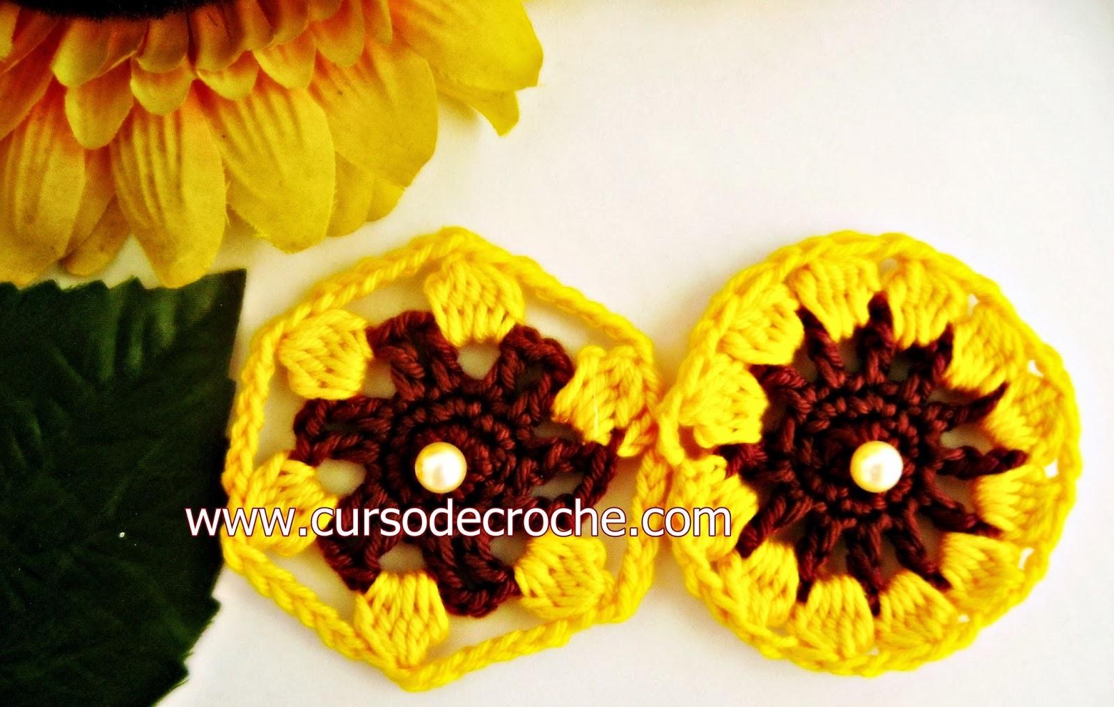 flores em croche dvd 5 volumes com edinir-croche na loja curso de croche com frete gratis