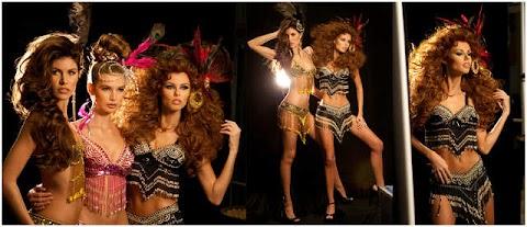 Candidatas en sesión de fotos oficiales - Miss Universe 2011
