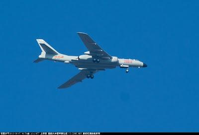 PLAAF H-6K Bombers