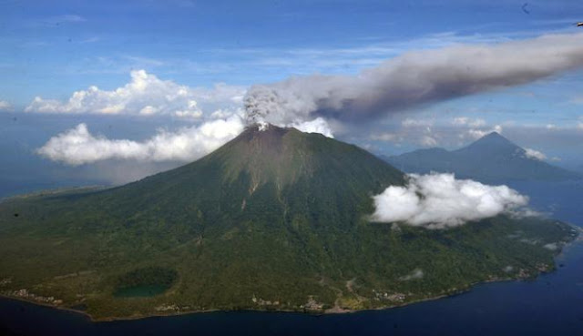 Objek Wisata Gunung Gamalama Ternate Maluku 2
