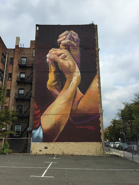 The Bushwick Collective and Manacontemporary recently joined forces to bring over our buddy Case Ma'Claim on the streets of Jersey City.