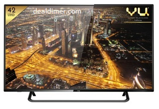 Vu 42-Inch 4K Ultra HD Smart LED TV 42D6455