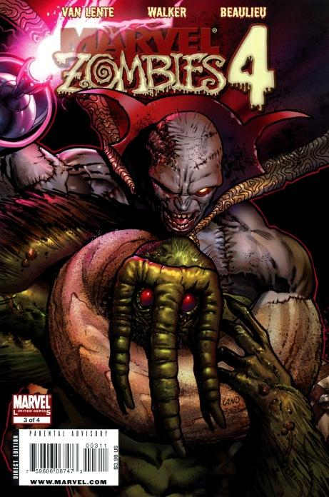 Marvel Zombies 4 - US covers - chapitre 3