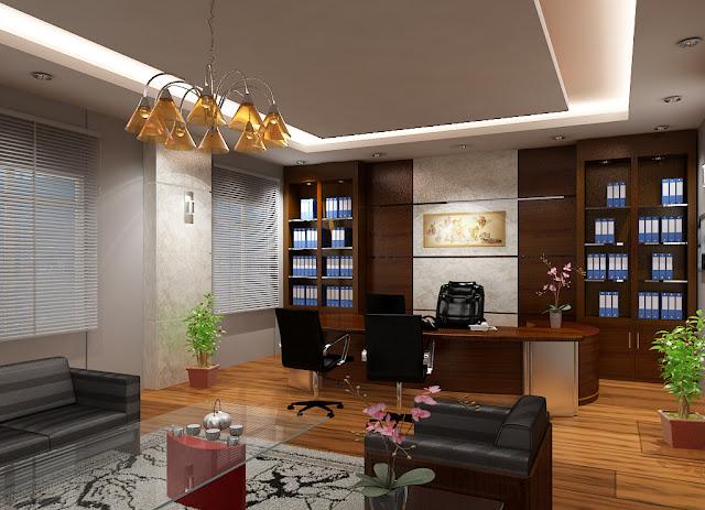 Thiết kế nội thất phòng giám đốc 02