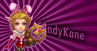 Candy Kane - Pahlawan Legenda - Castle Clash