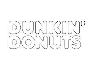 Dunkin Donuts Logo Sketch