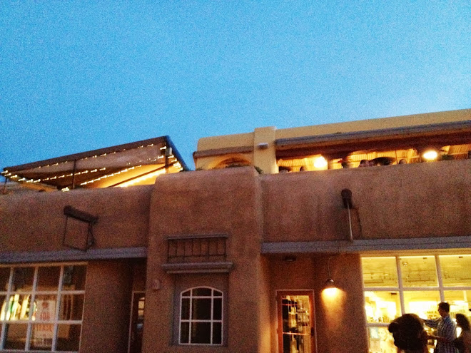 The Rooftop Cantina, Santa Fe, New Mexico