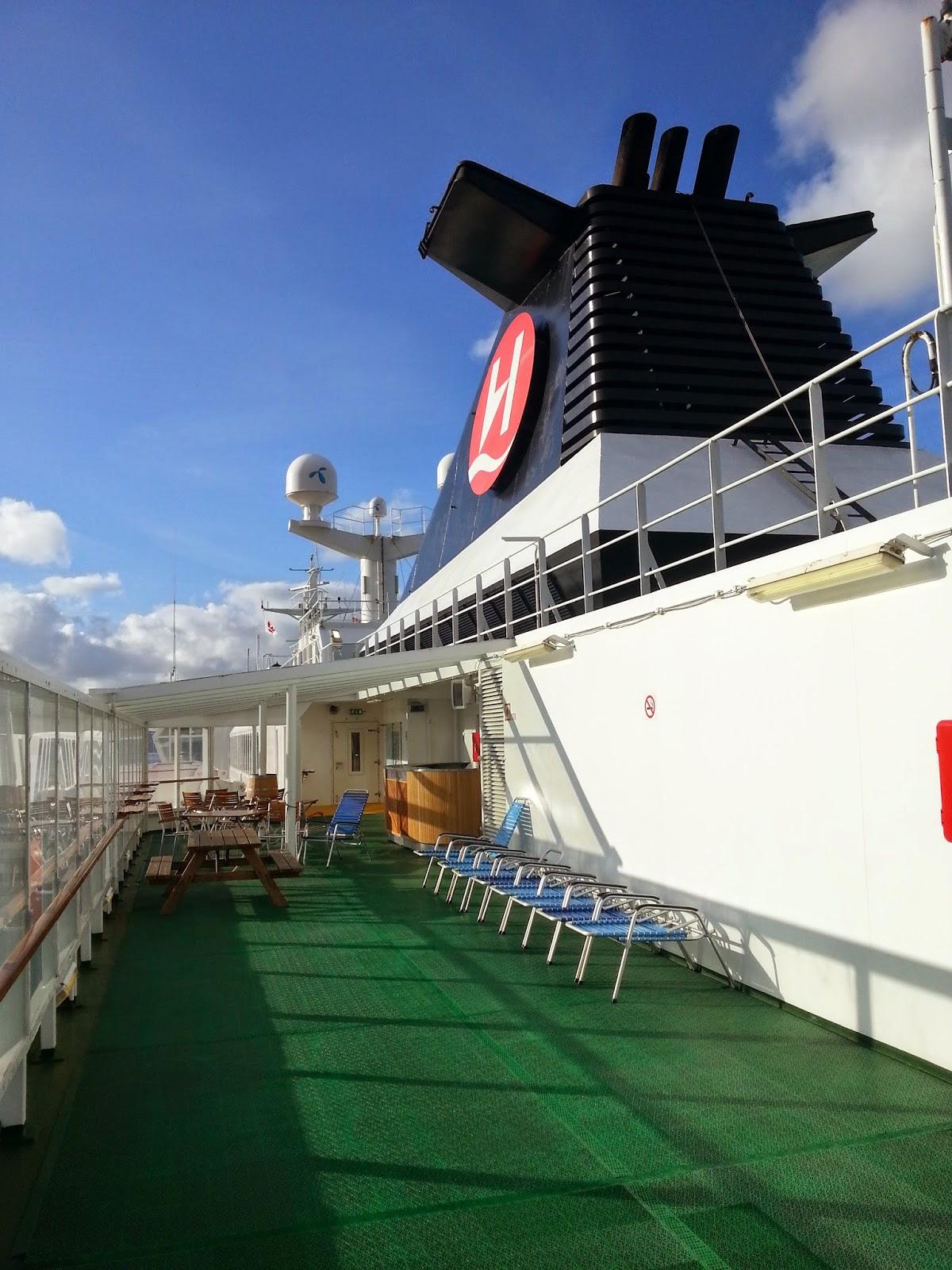 Hurtigruten MS Polarlys - Sun Deck