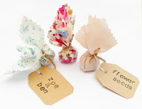 Personalised wedding favours by Laura Ann