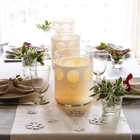 decoratie stukjes glas