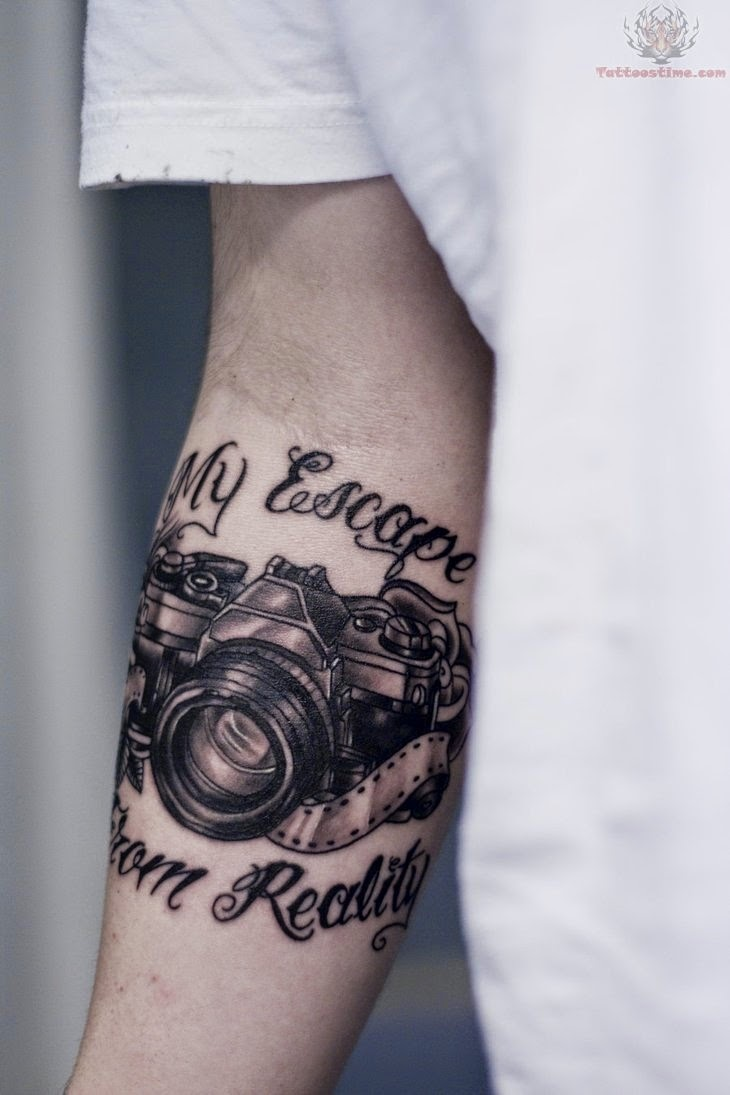 ♥ ♫ ♥ My Escape From Reality - Camera Tattoo. I love this. ♥ ♫ ♥