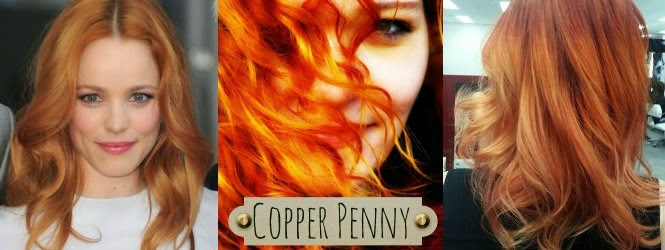 Copper Penny Hair Color