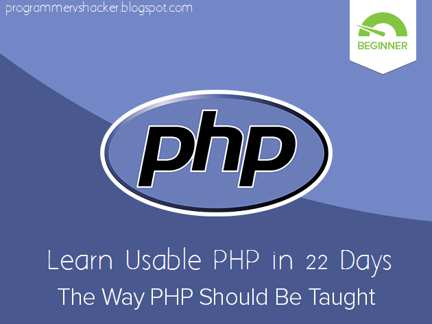 Introduction to PHP (New Course)