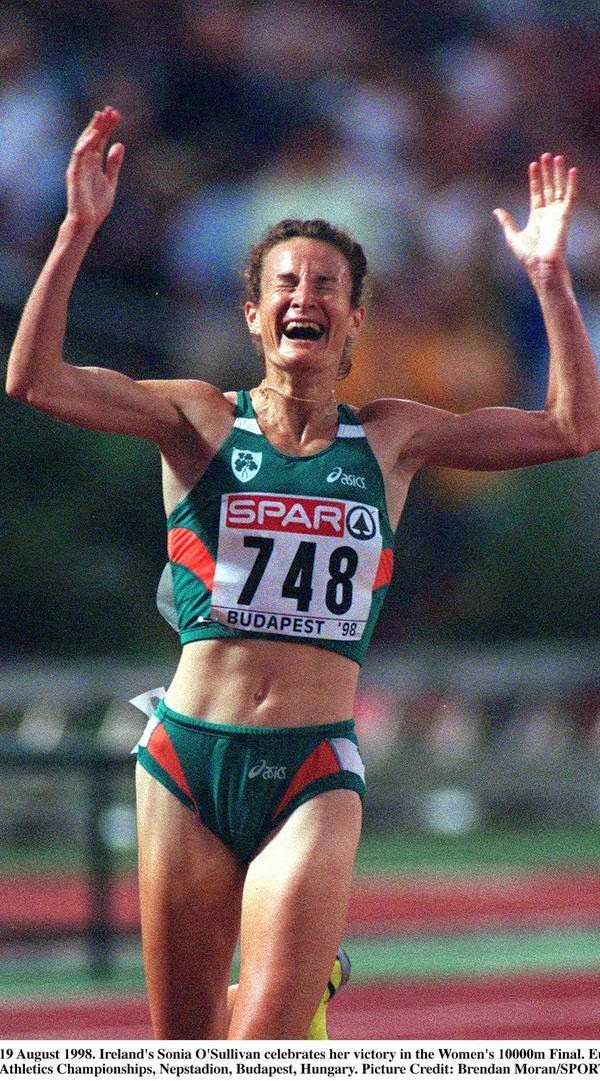 1998 in BudapestSonia O'Sullivan wins European Championship at 10,000m
